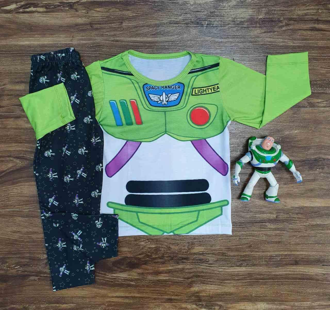 Pijama Buzz Lightyear Infantil