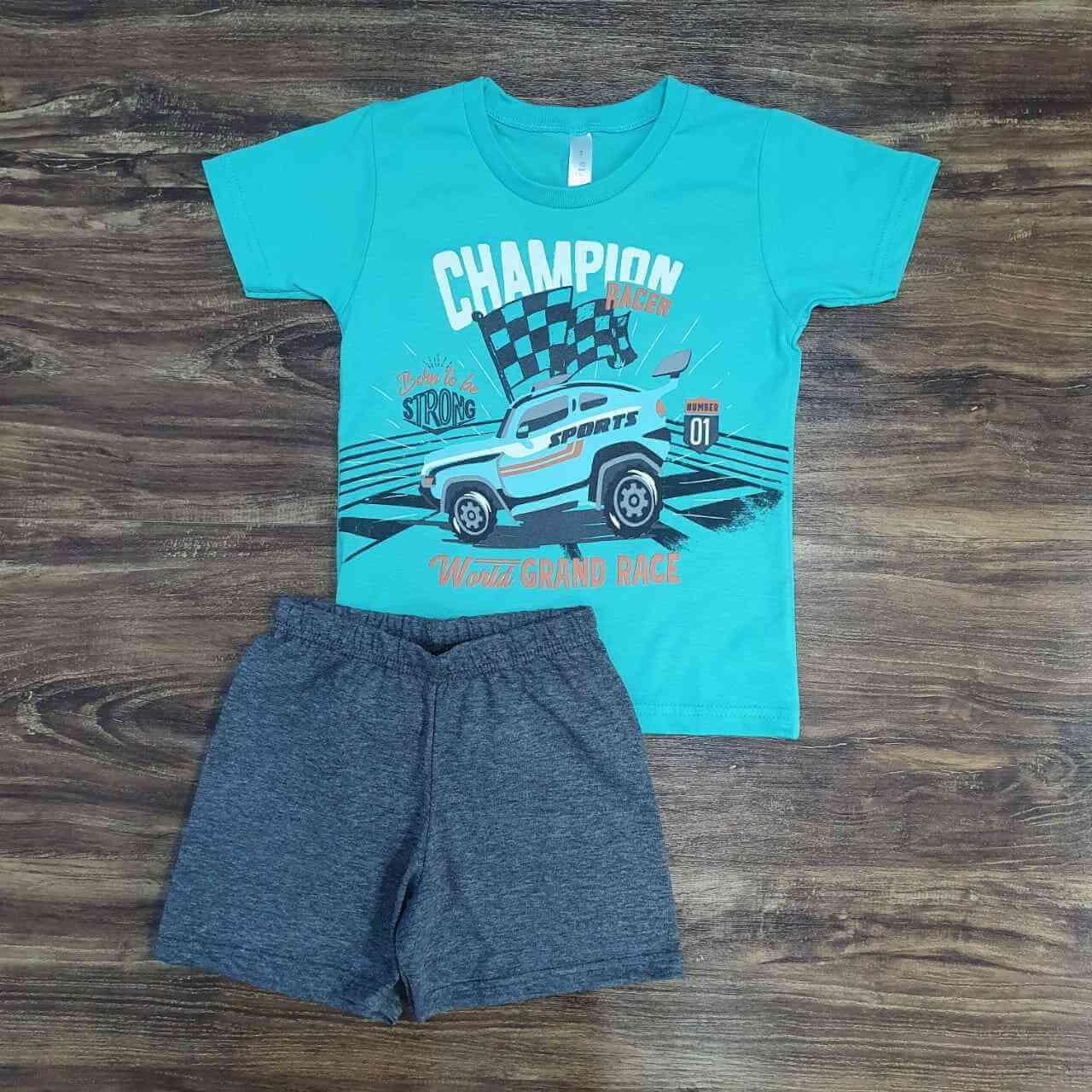 Pijama Champion Racer Infantil