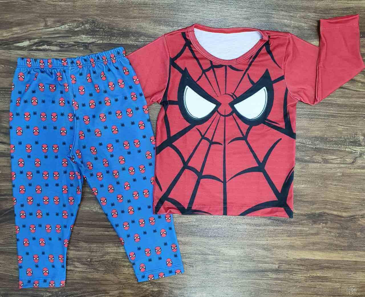 Pijama Homem Aranha Infantil
