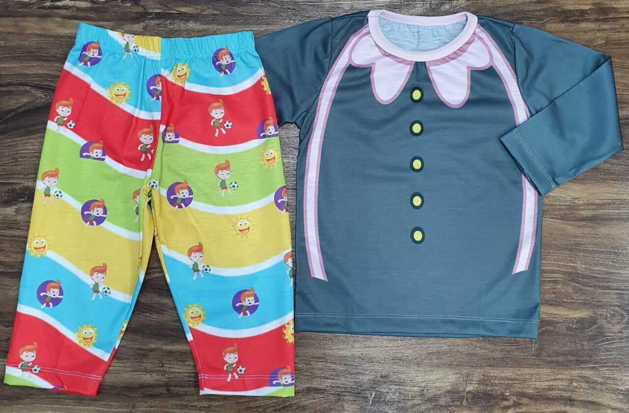 Pijama Infantil Mundo Bita