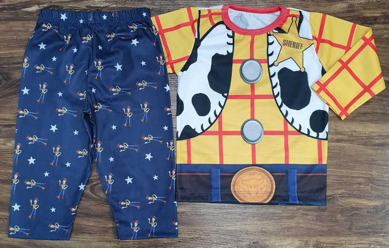 Pijama Infantil Toy Story