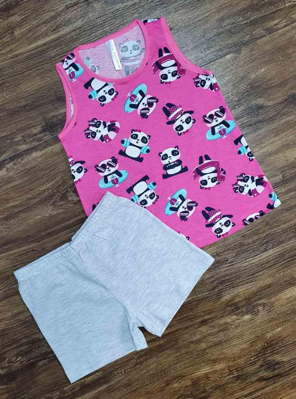 Pijama Panda Infantil