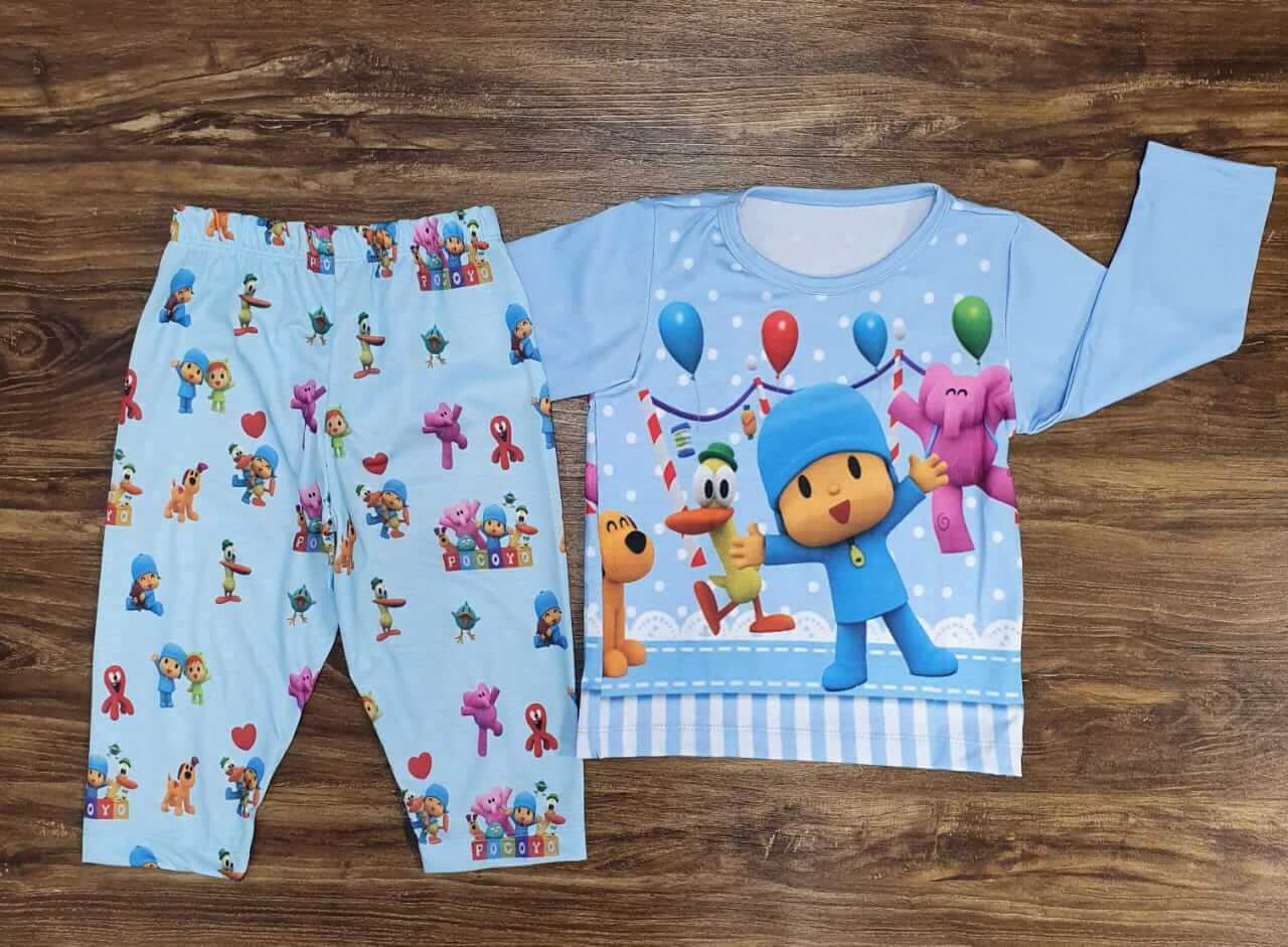 Pijama Pocoyo Infantil