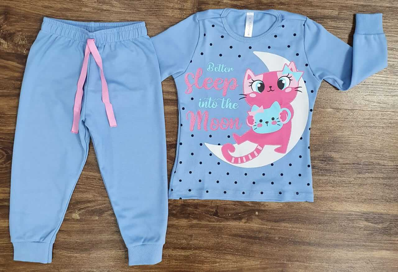 Pijama Sleep Moon Infantil