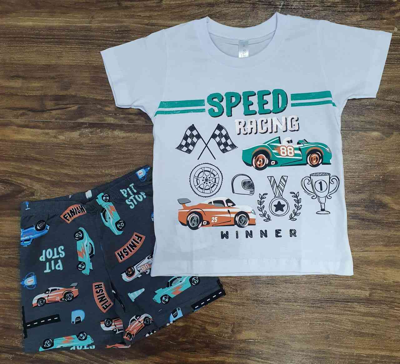 Pijama Speed Infantil