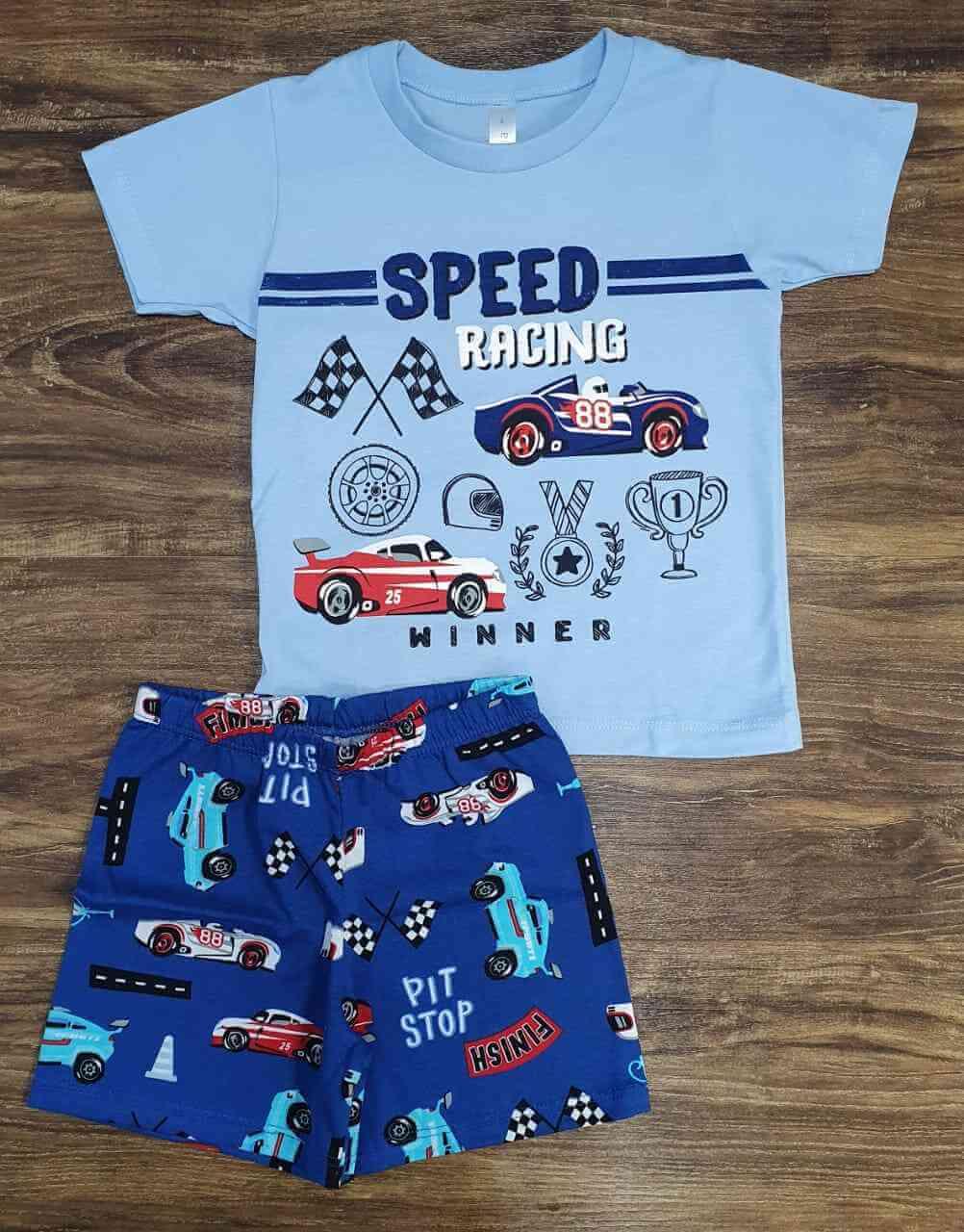 Pijama Speed Racing Infantil
