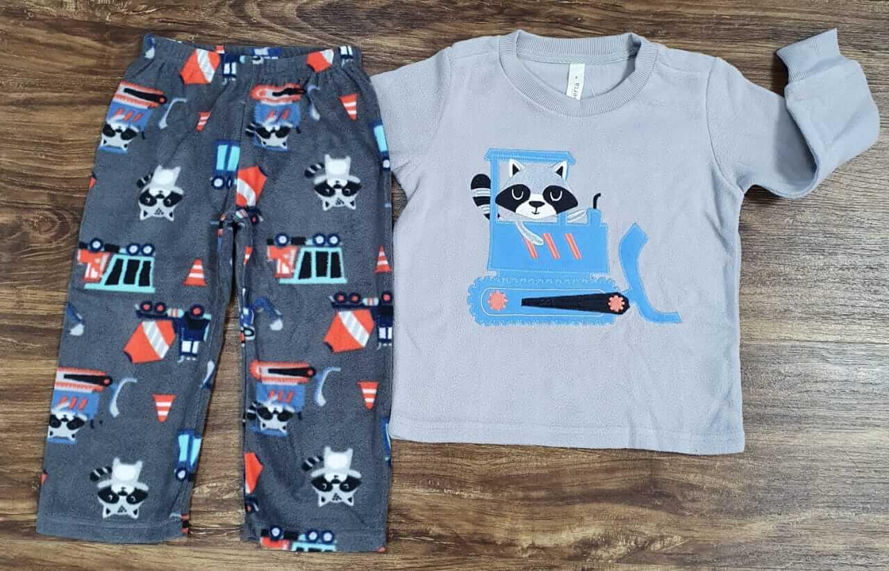 Pijama Trator Infantil