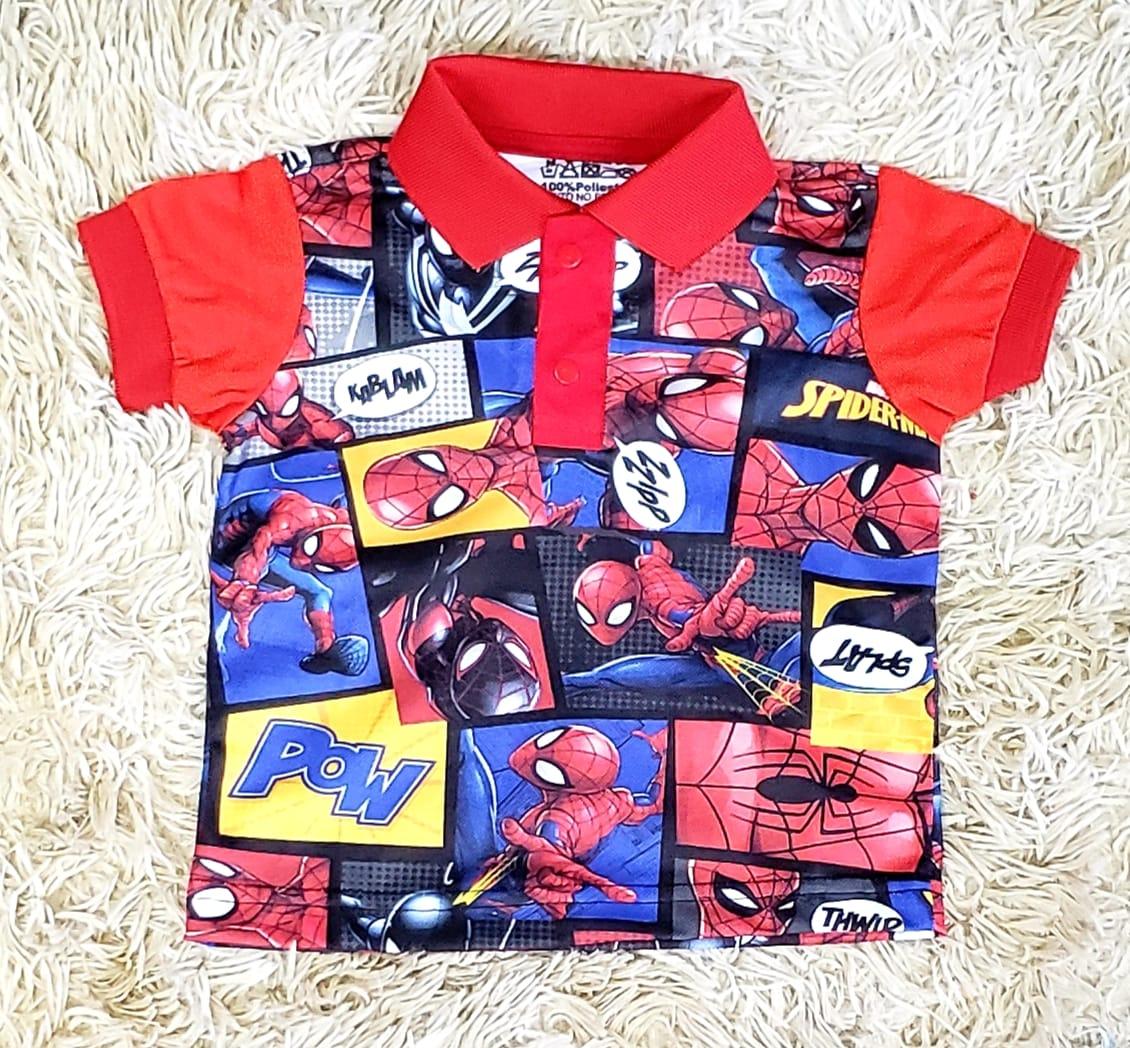 Polo Homem Aranha