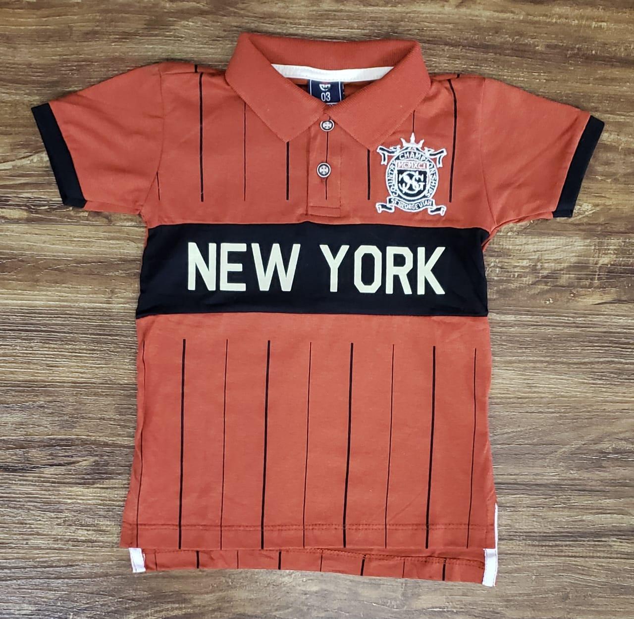 Polo Marrom New York