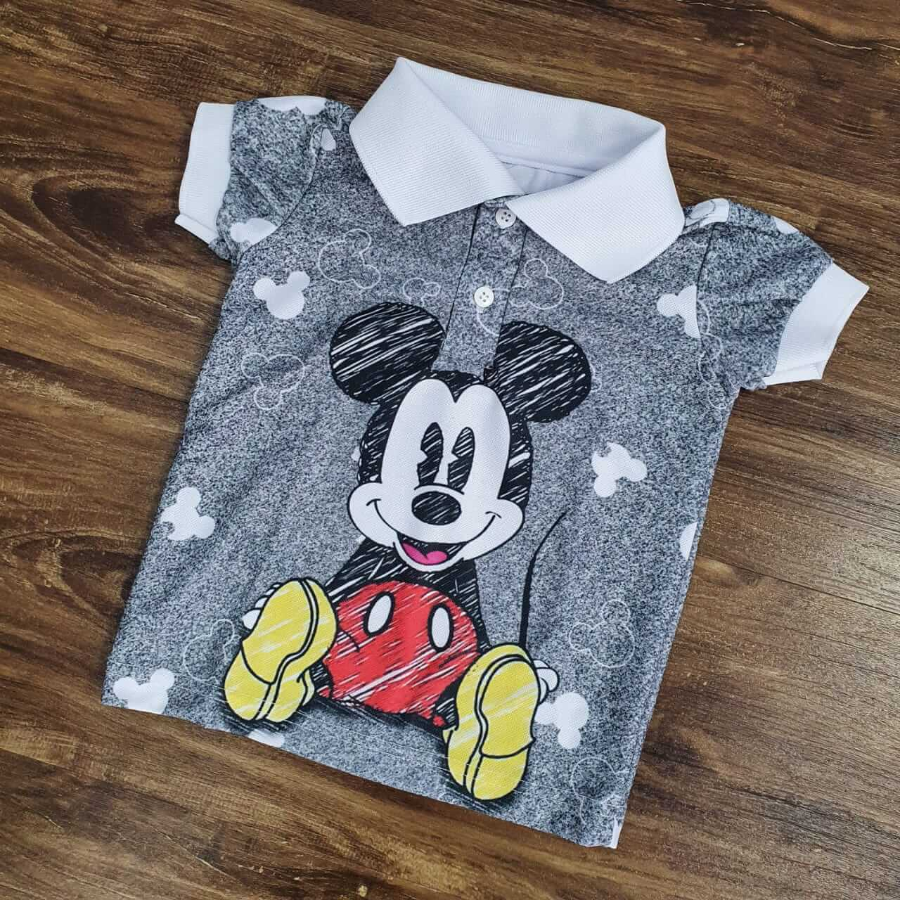 Polo Mickey Infantil