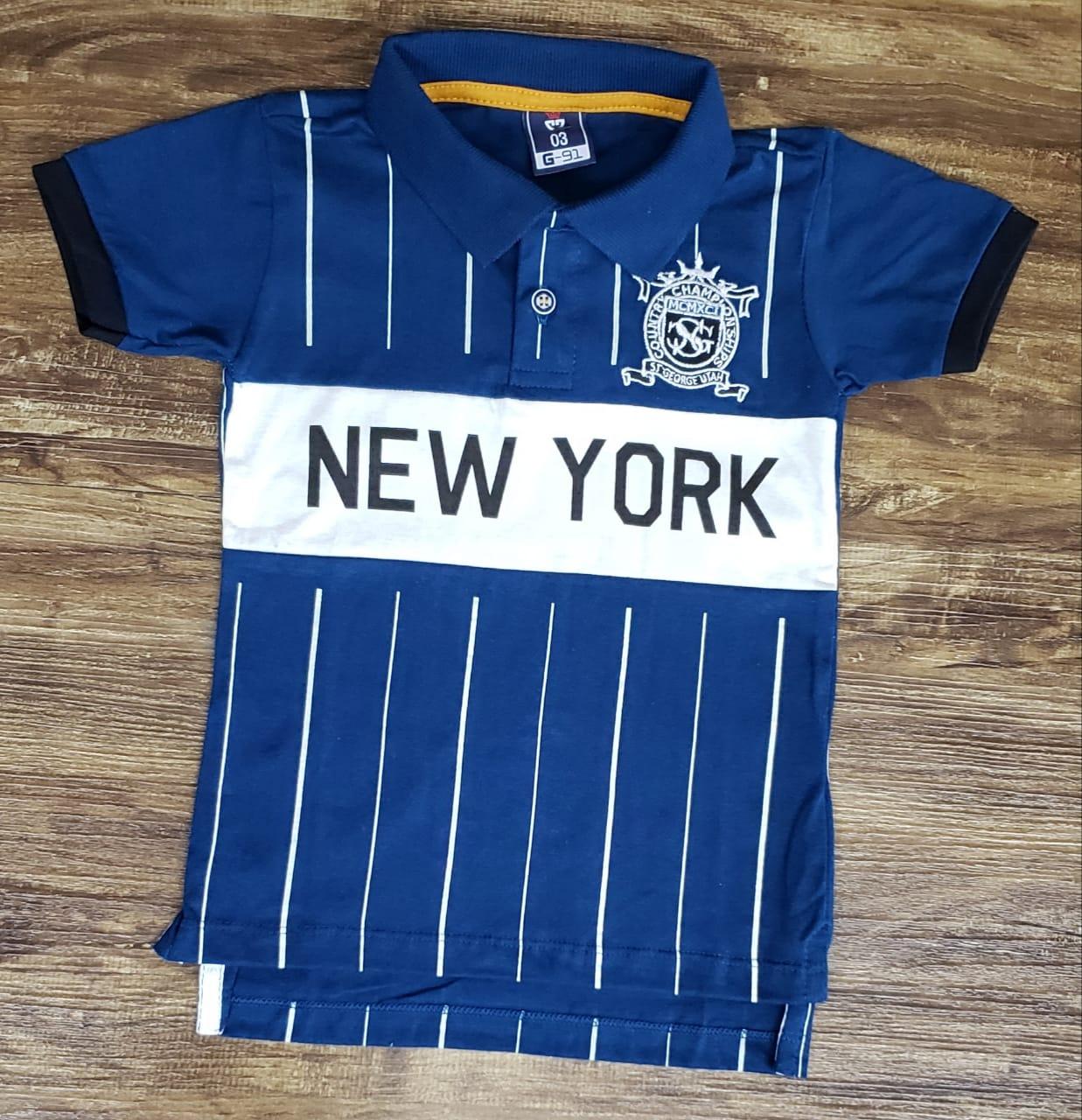 Polo New York Azul