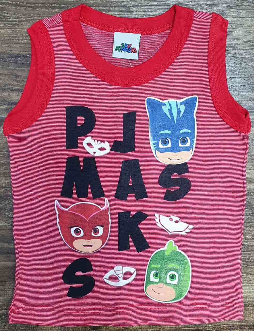 Regata Vermelha PJ Masks