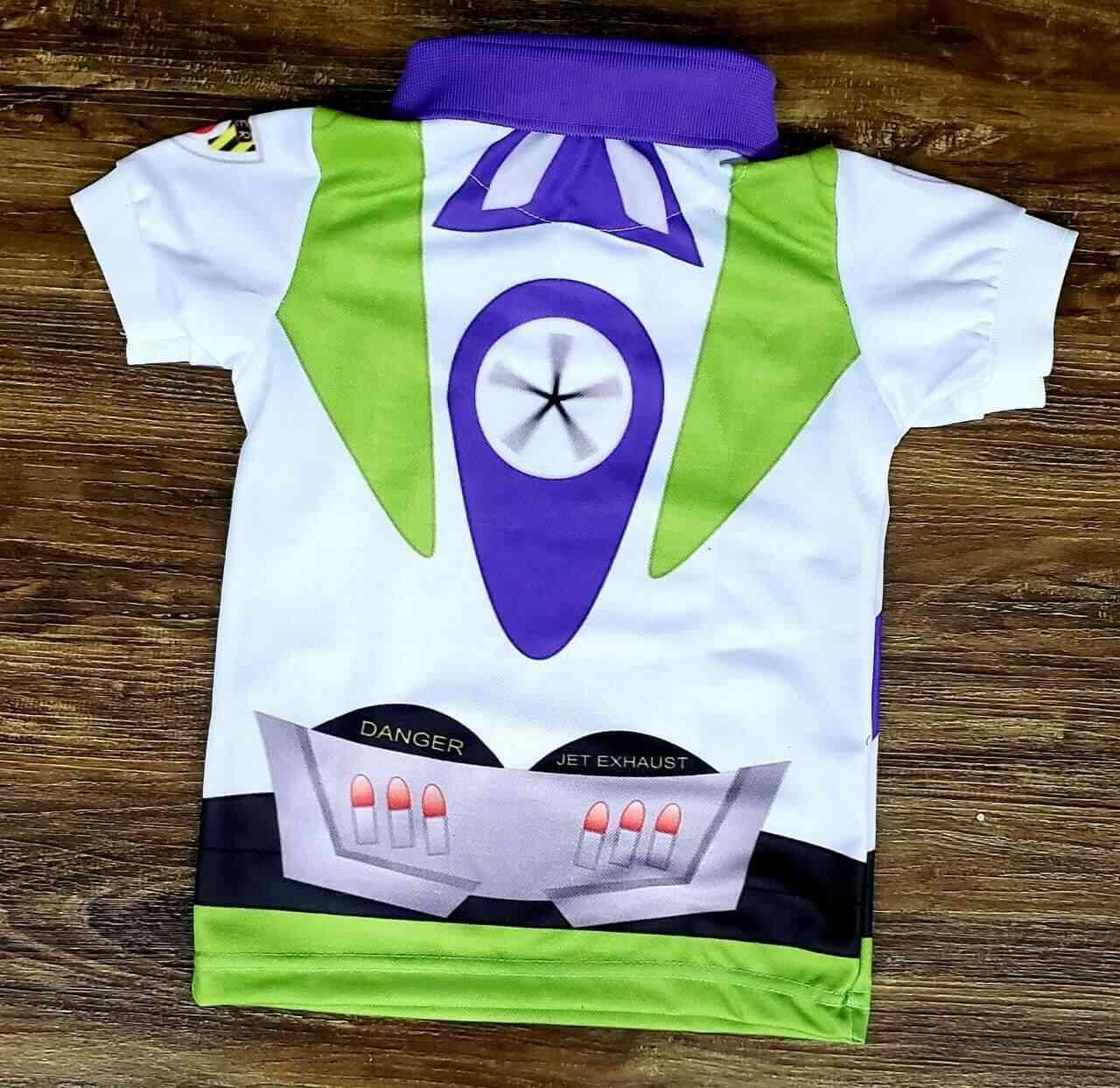 Roupa Buzz Lightyear Toy Story Infantil