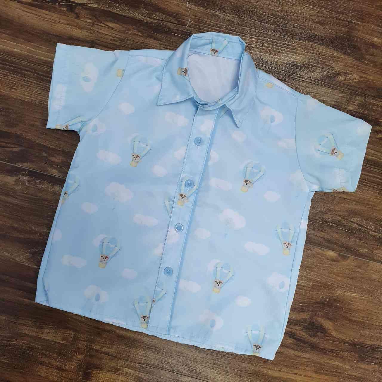 Camisa Urso Baloeiro Infantil