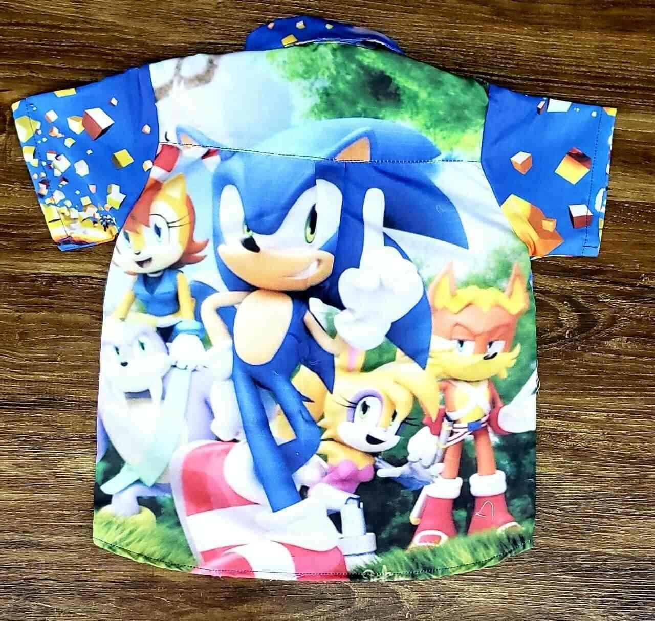 Roupa do Sonic