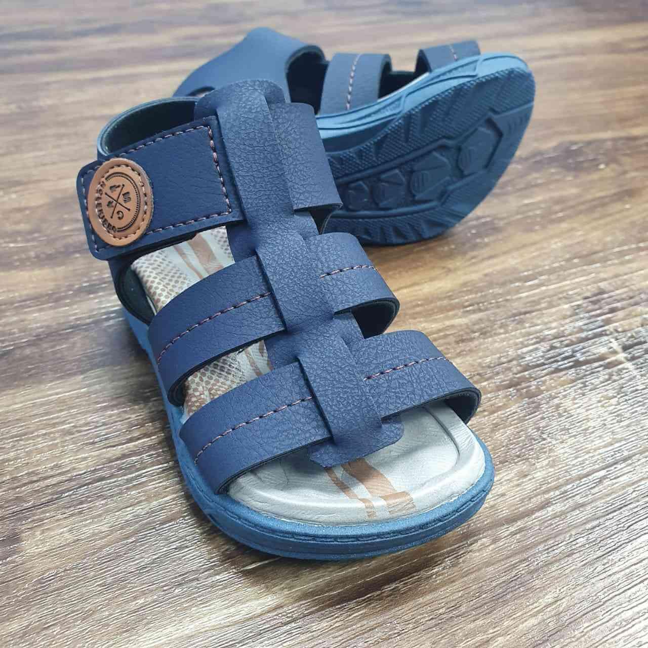Sandalia Azul Marinha Infantil