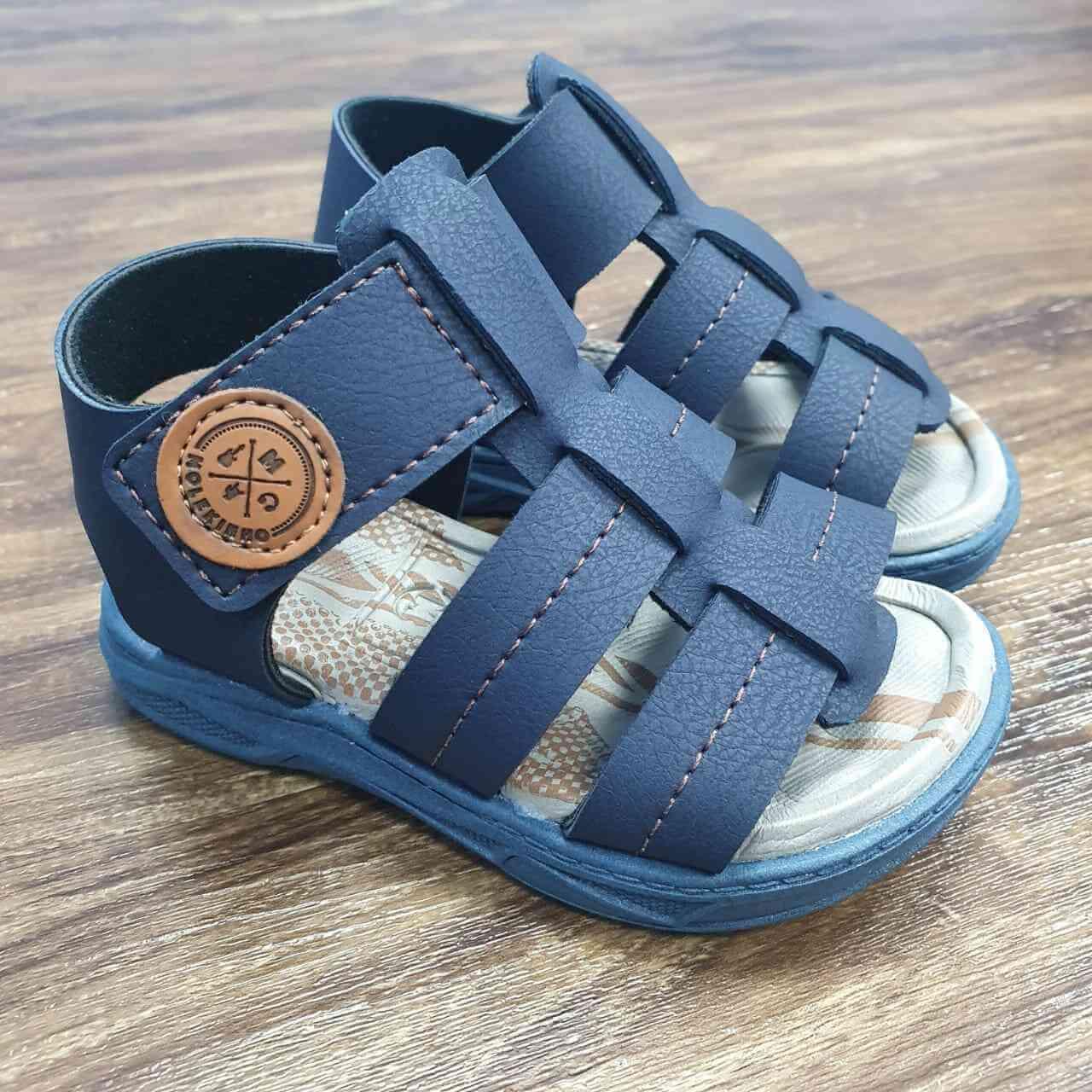 Sandalia Azul Marinho Infantil