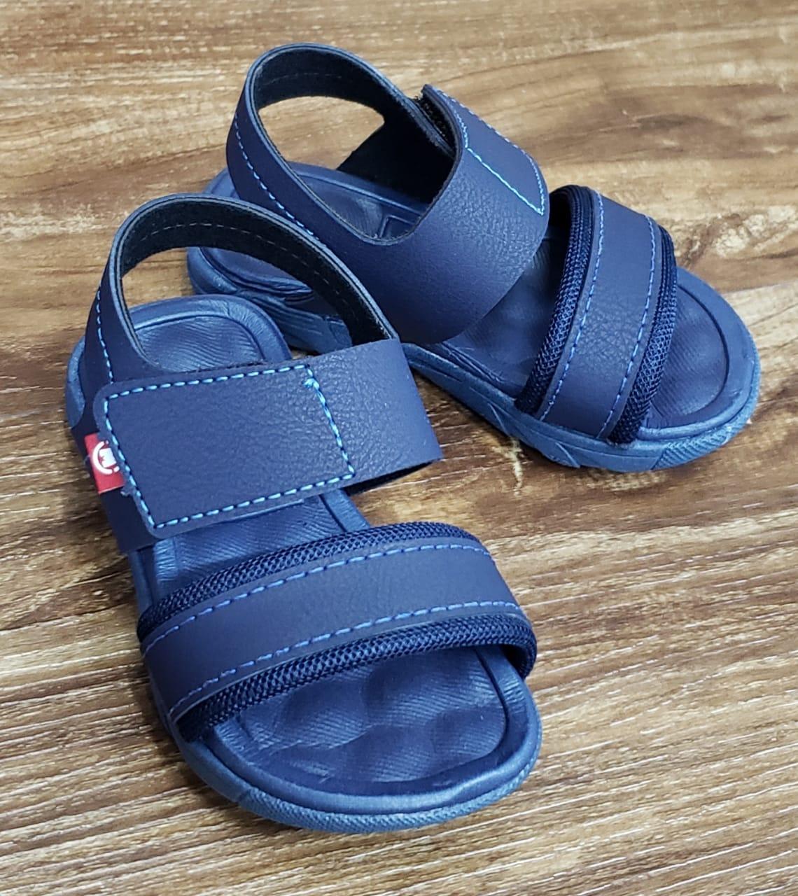 Sandália Infantil Azul Marinho