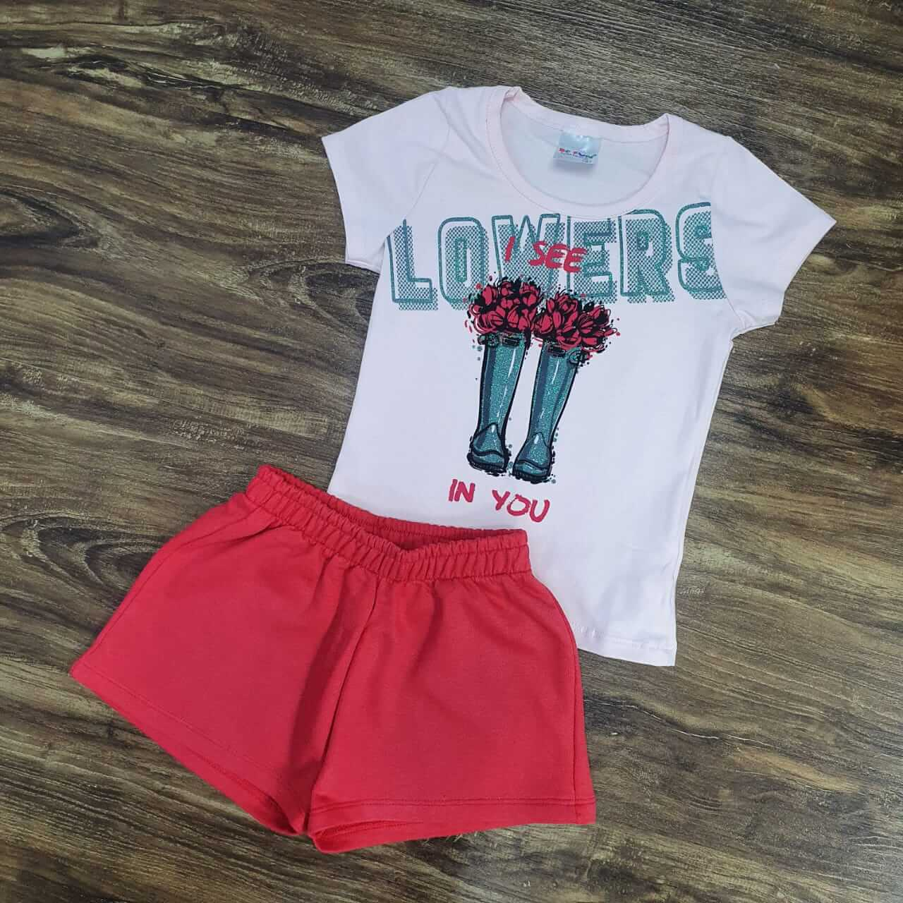 Shorts com Blusa Lowers Infantil