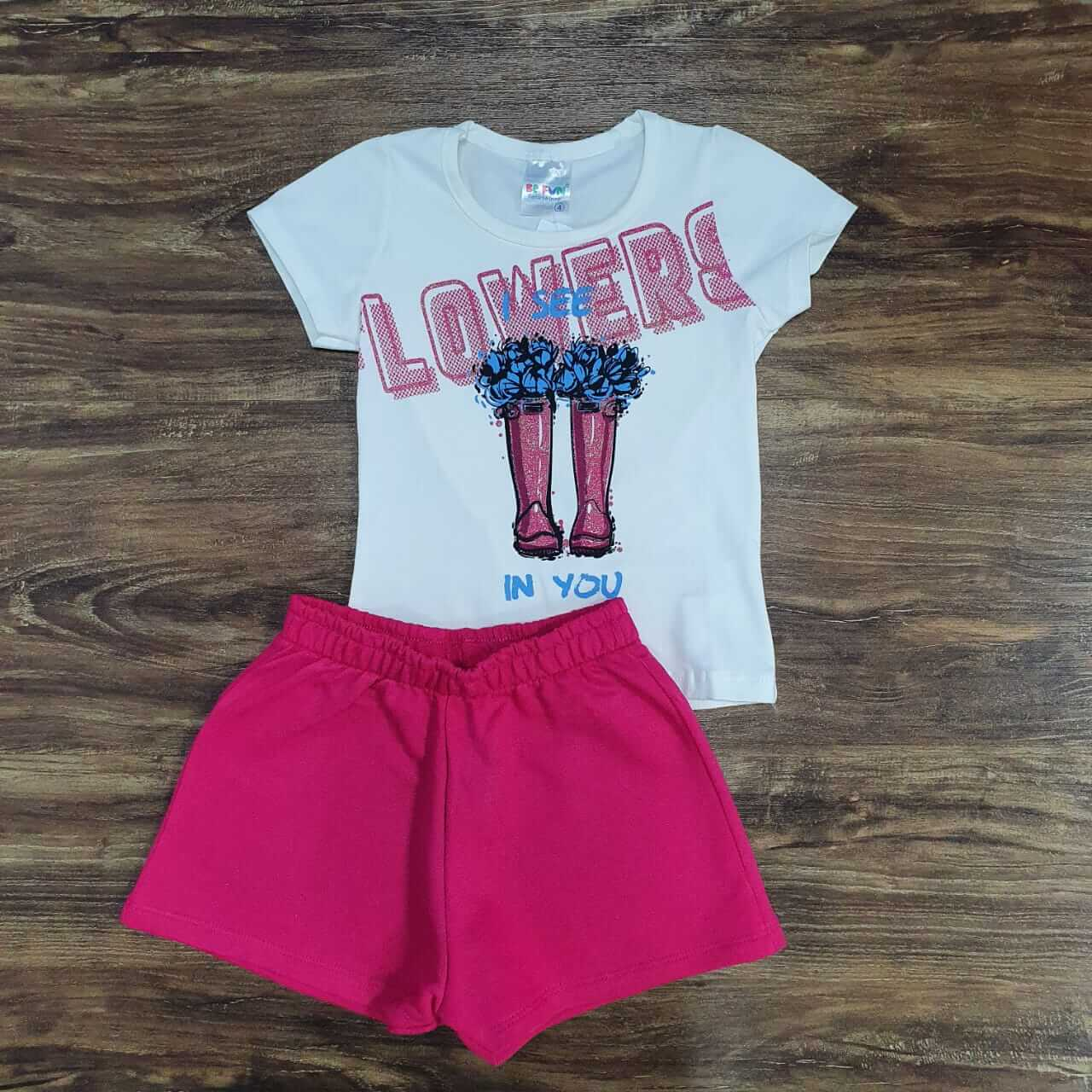 Shorts com Blusa Lowers Infantil