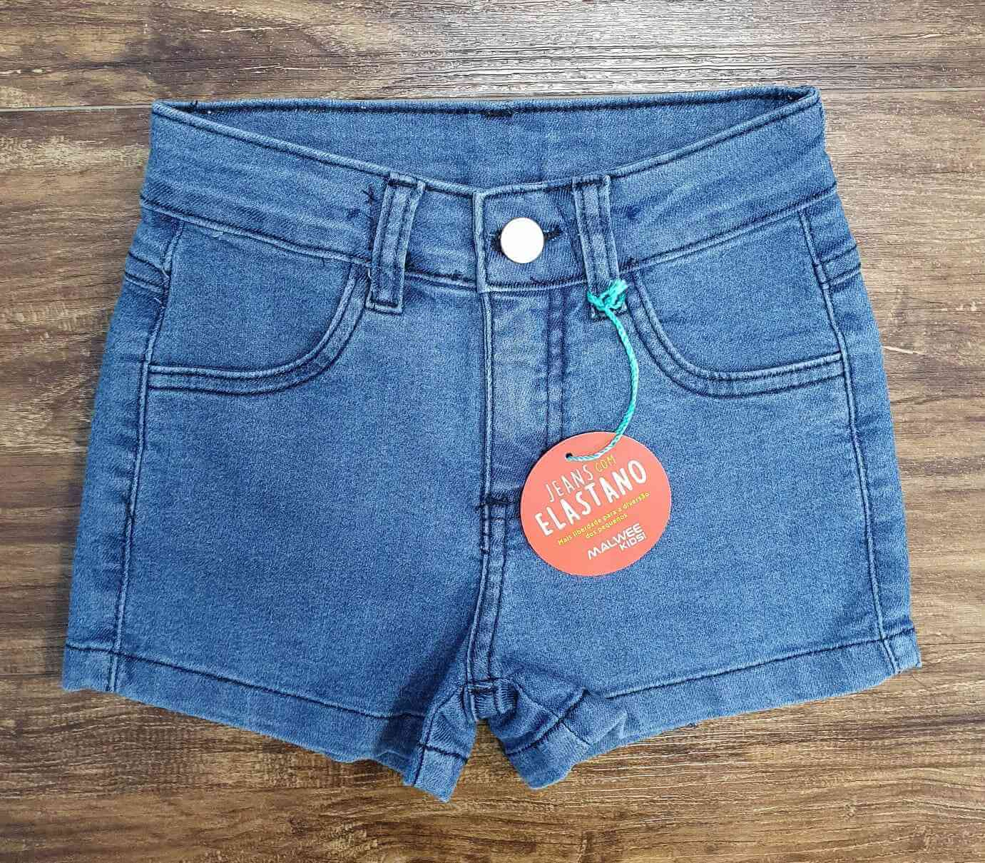 Shorts Jeans Básico Infantil