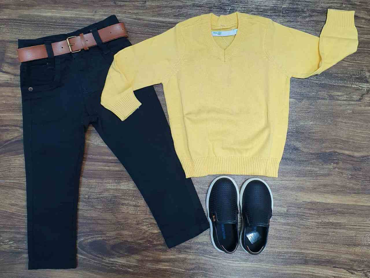 Suéter com Calça Infantil