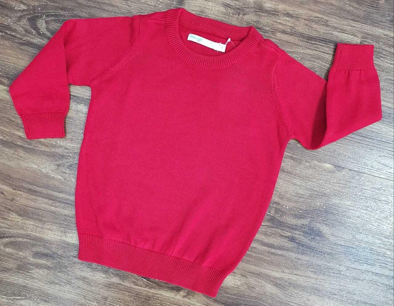 Suéter Vermelho