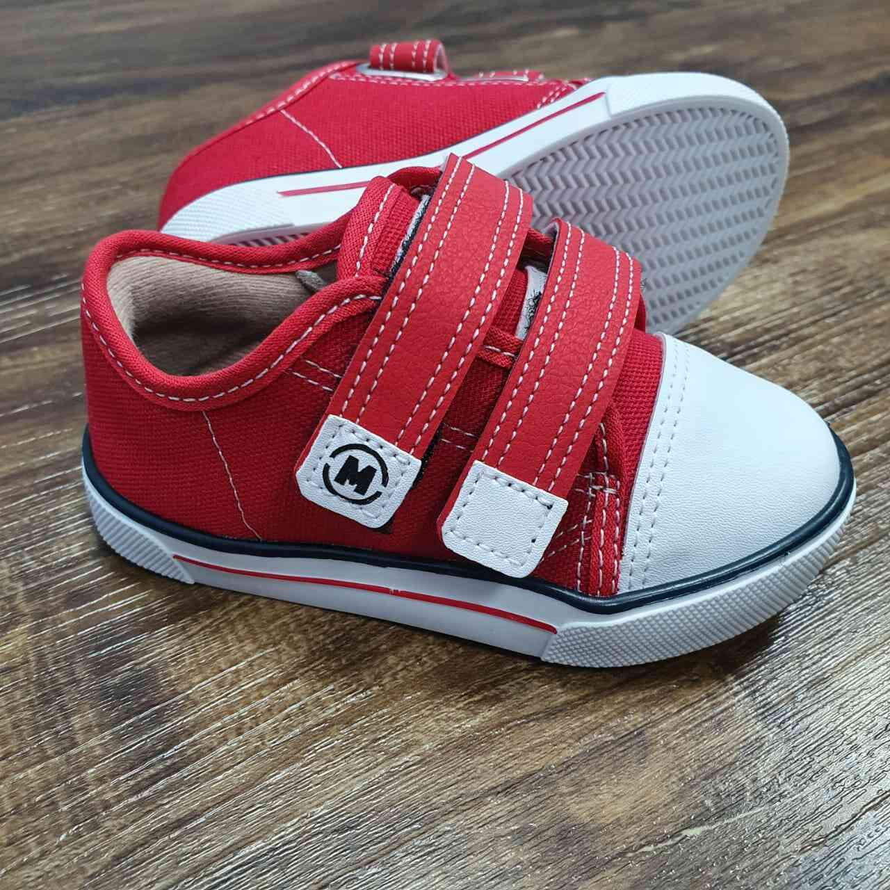 Tênis Velcro Plus Vermelho Infantil