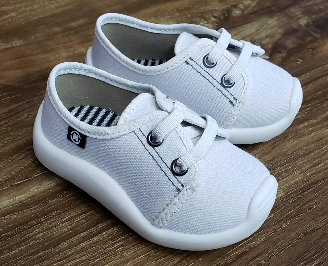 Tênis Infantil Branco