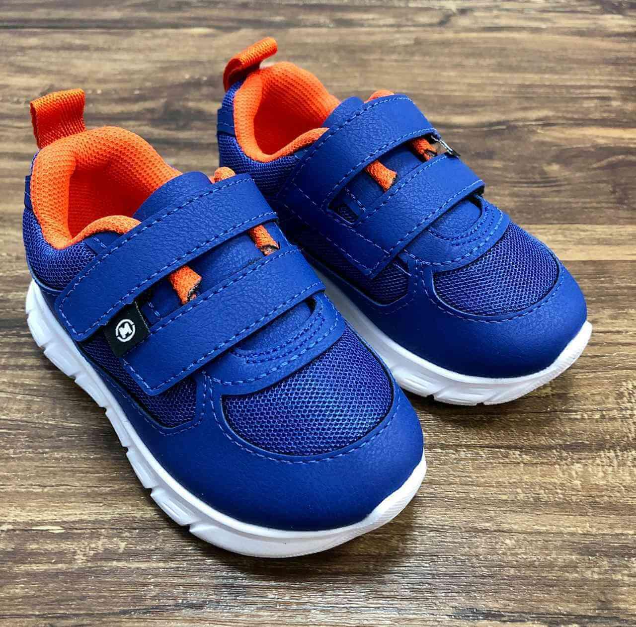 Tênis Azul Nylon Infantil