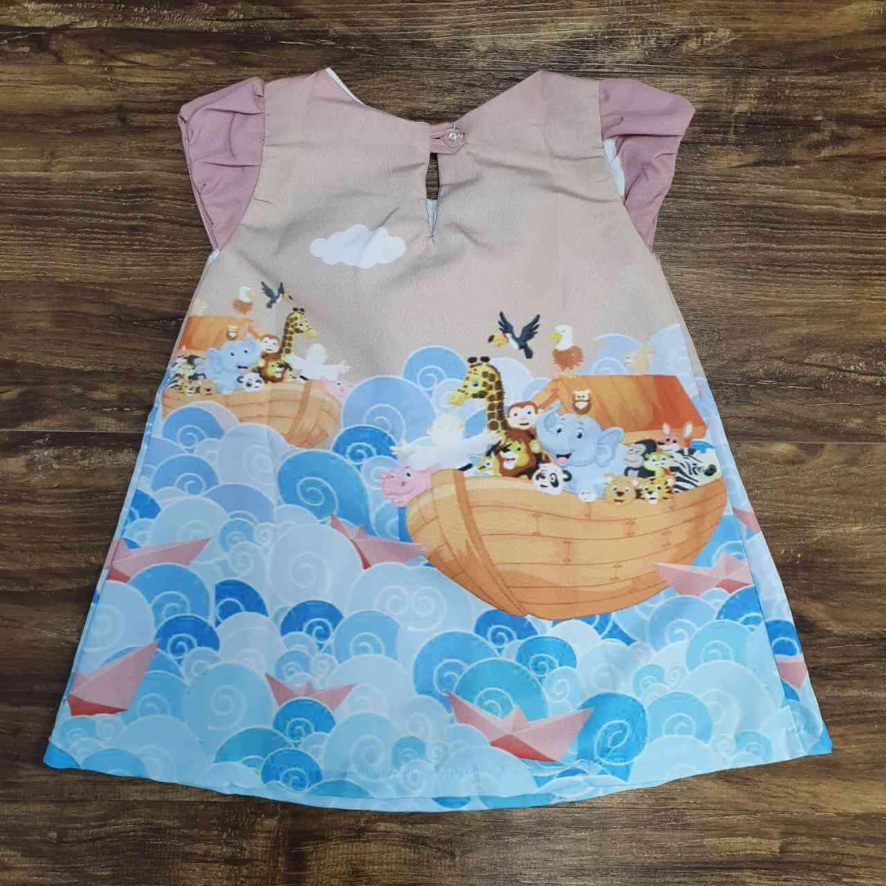 Vestido Arca de Noé Infantil