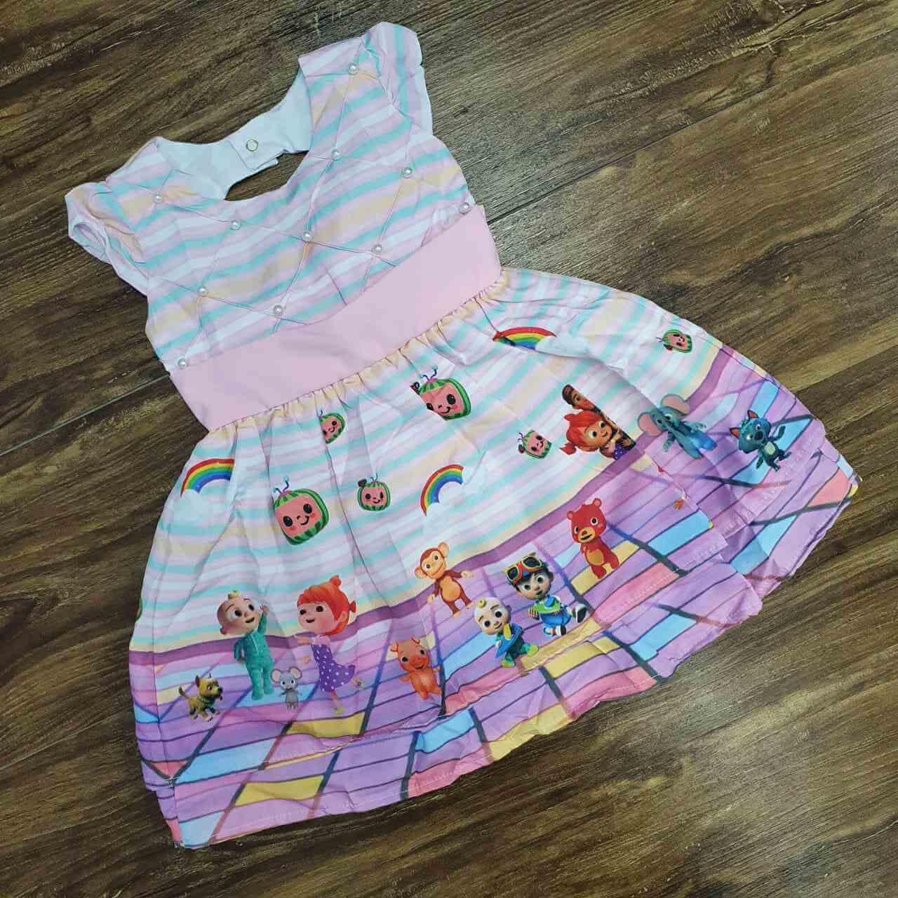 Vestido Cocomelon Infantil
