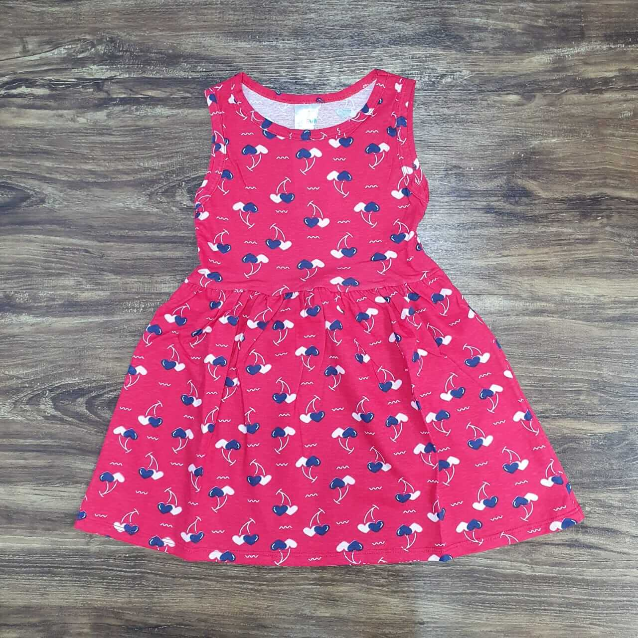 Vestido Coração Infantil