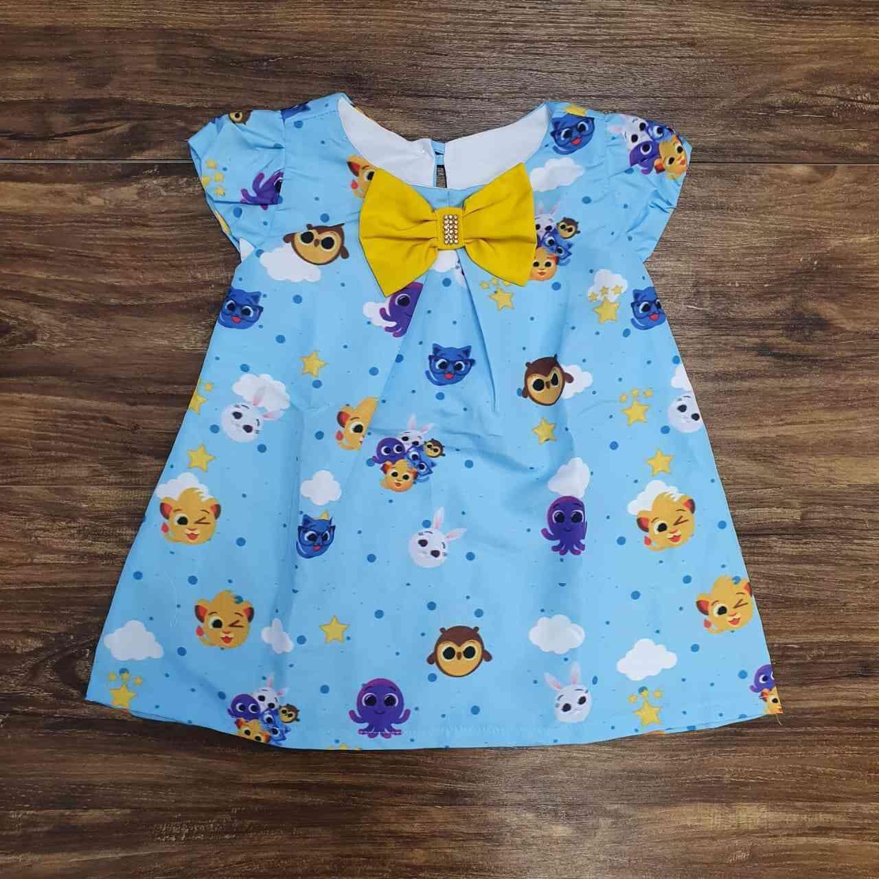 Vestido Curto Bolofofos Infantil