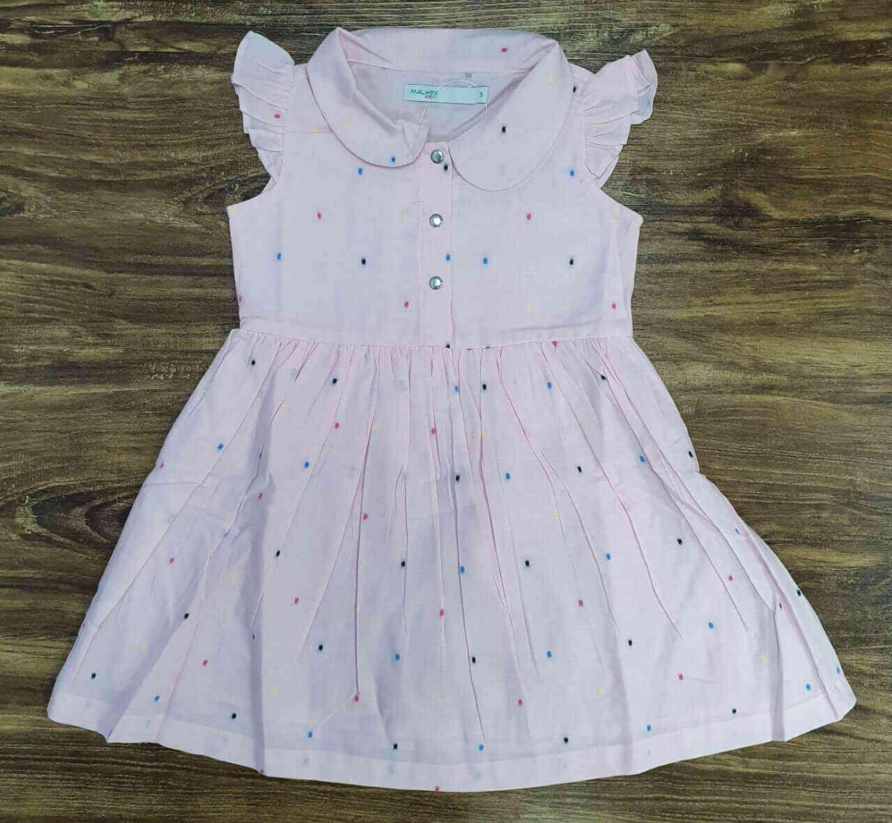 Vestido de Bolinha Infantil