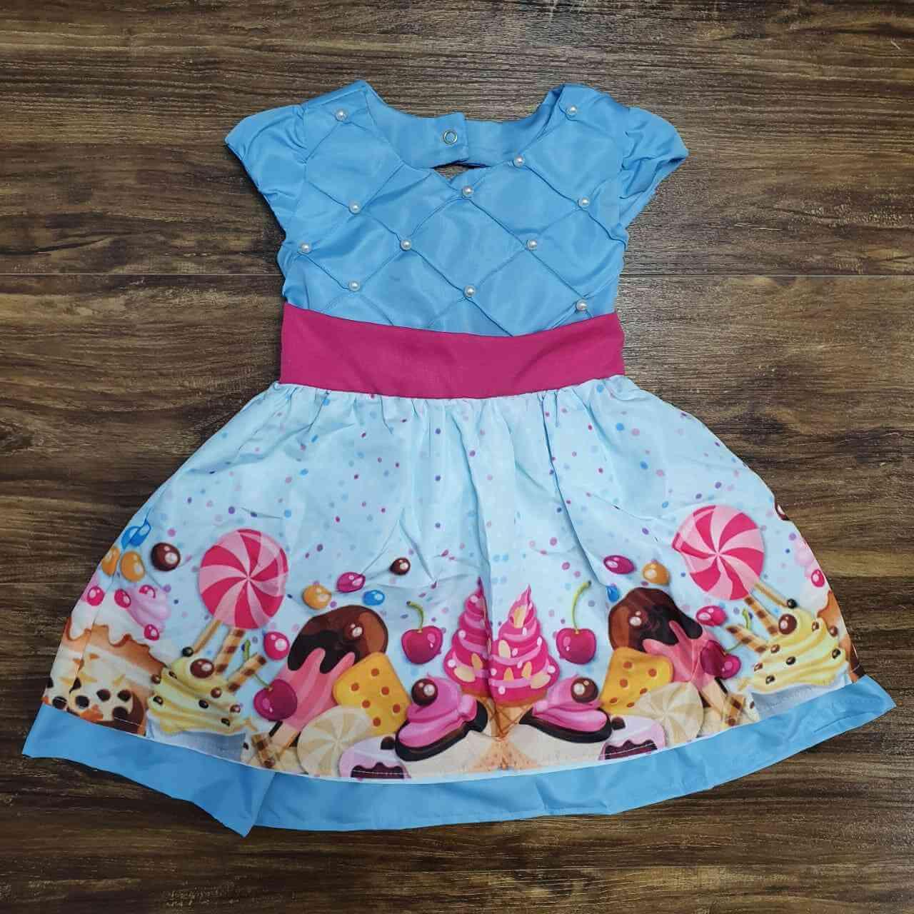 Vestido Doces Infantil
