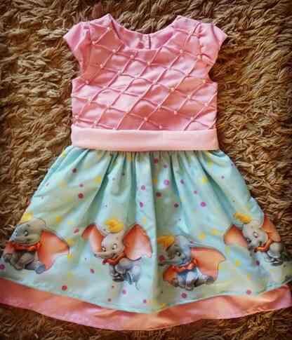 Vestido Dumbo Infantil