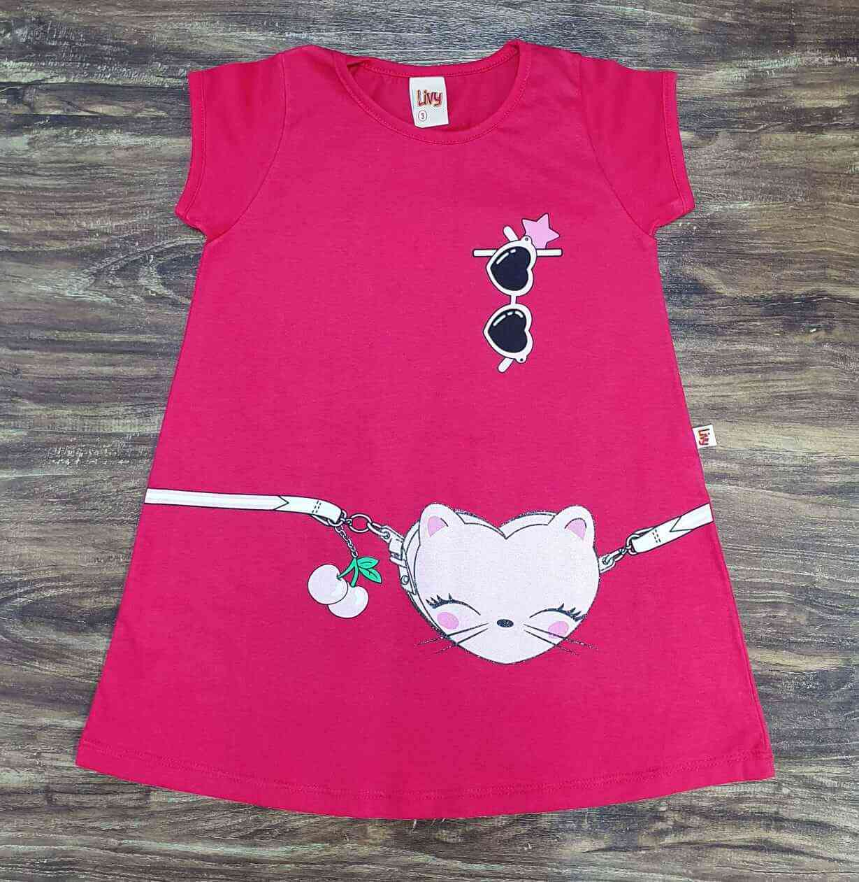 Vestido Fashion Infantil