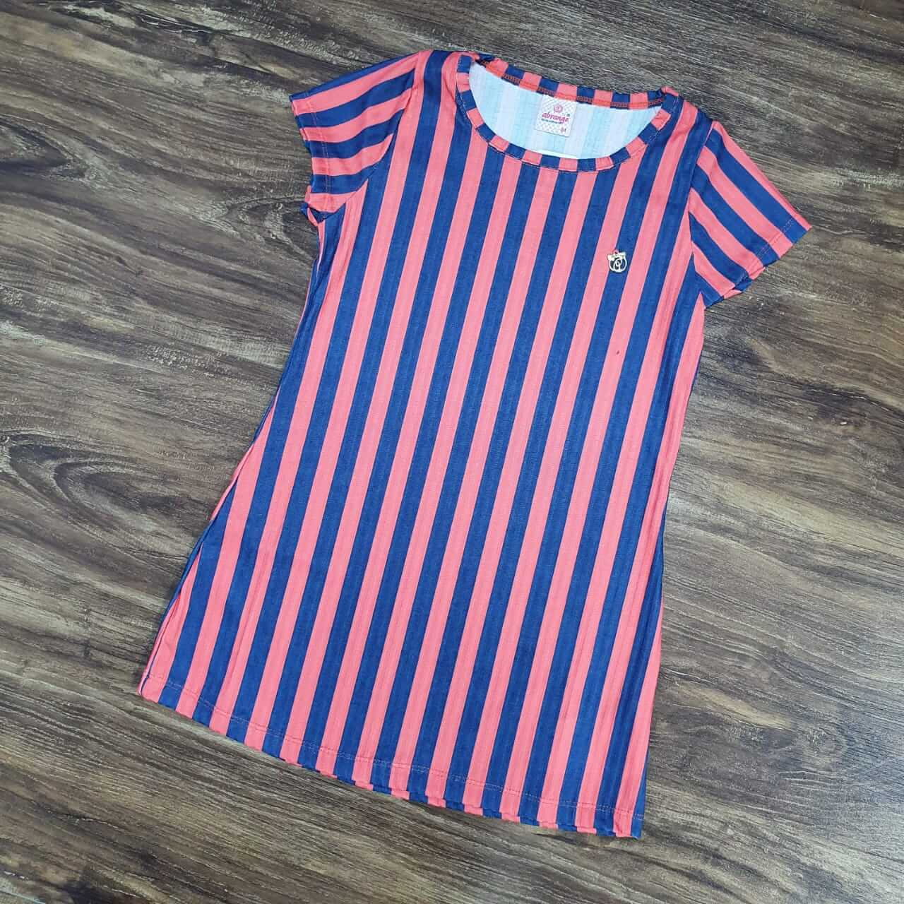 Vestido Listrado Infantil