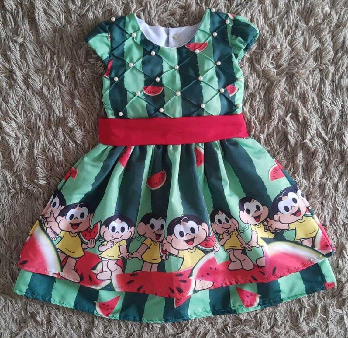 Vestido Magali Infantil