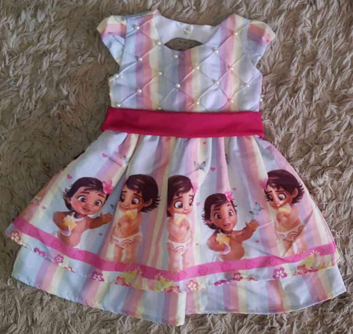 Vestido Moana Infantil