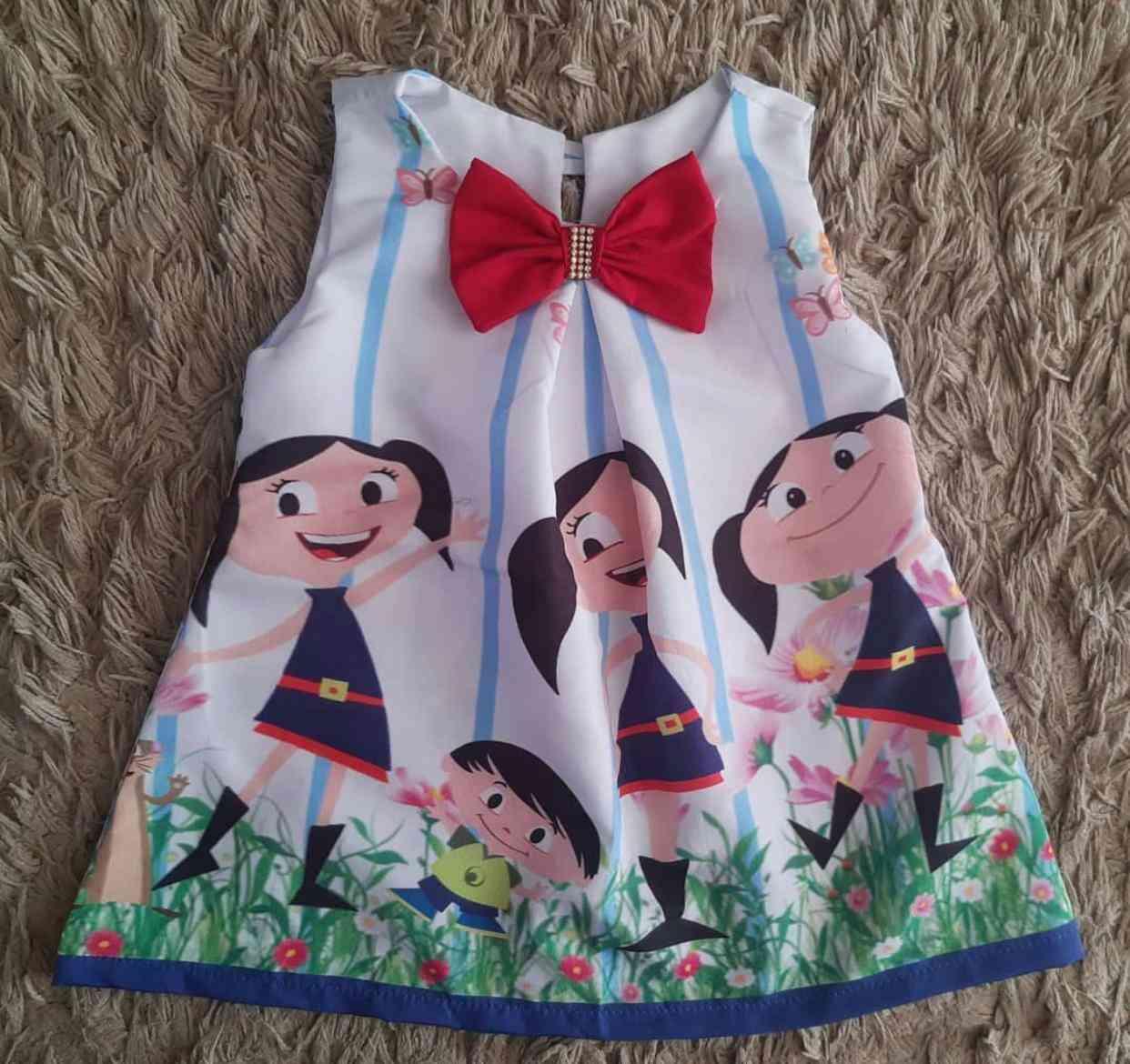 Vestido O Show da Luna Infantil