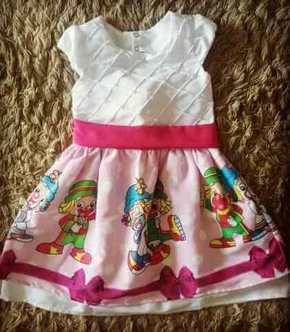 Vestido Rosa Patati Patata Infantil