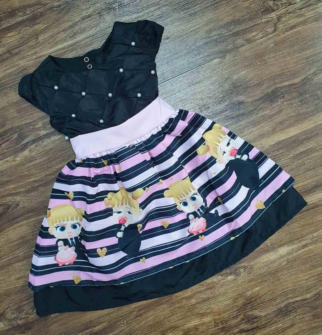 Vestido Poderosa Chefinha Infantil