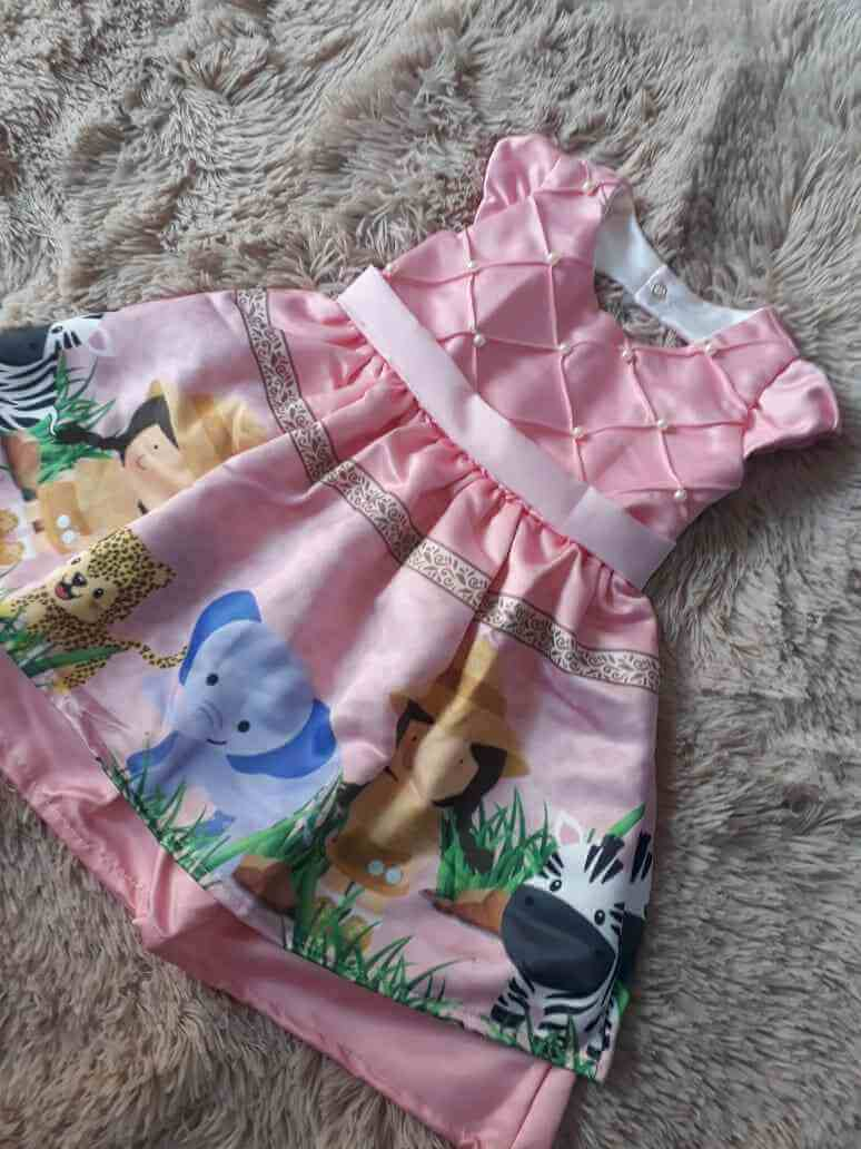 Vestido Safari Infantil