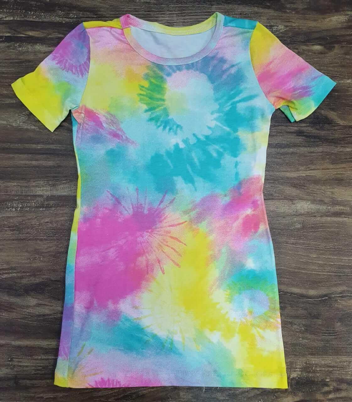 Vestido Tye Dye Infantil