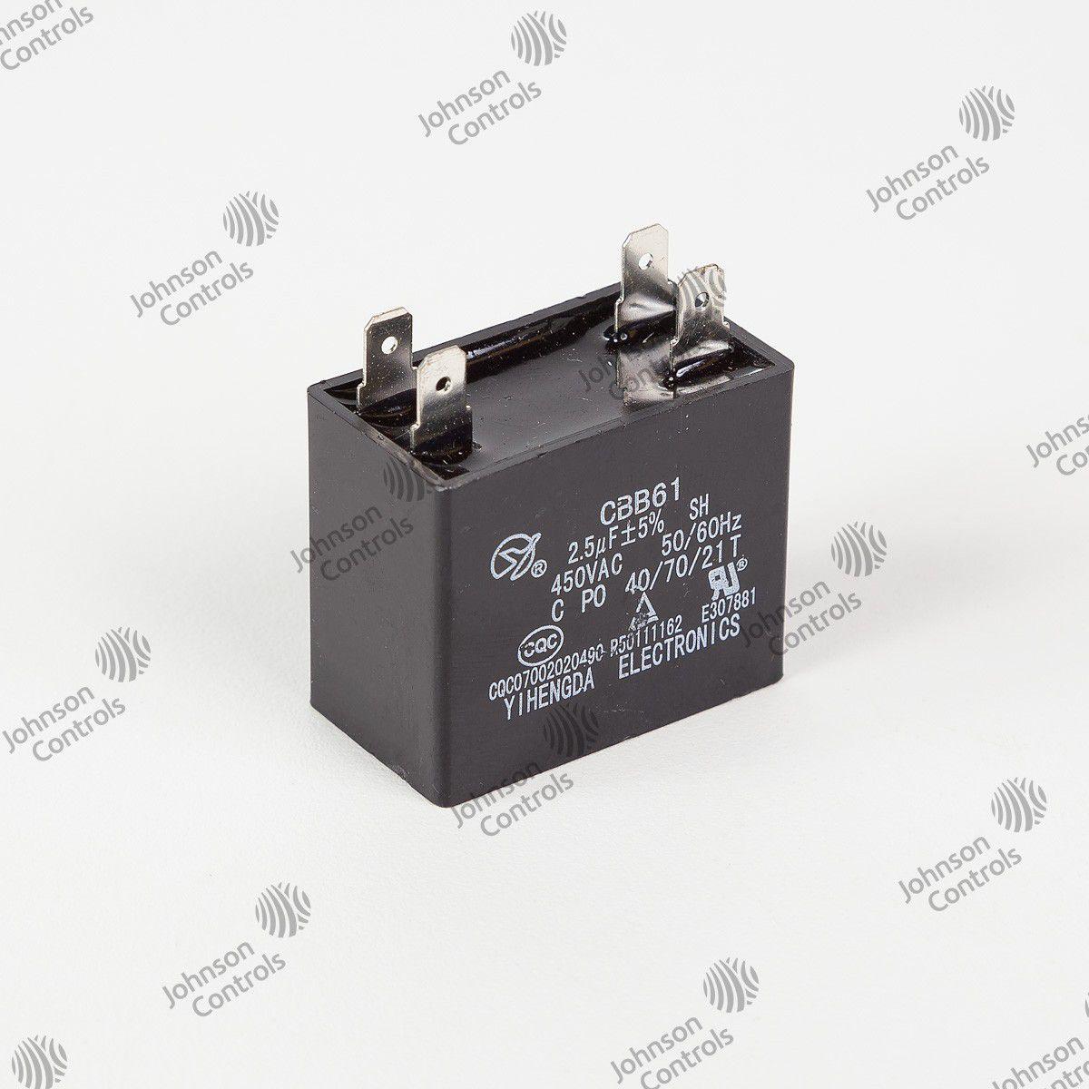 CAPACITOR DO MOTOR 2,5uF - C0901CKM006