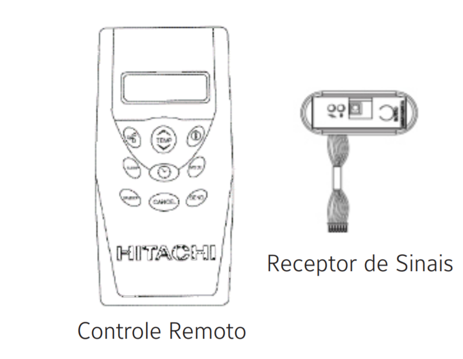 KIT CONT REM S/FIO P/RPI E TCY - KCO0098 - PEÇAS HITACHI