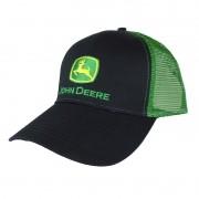 Boné John Deere Importado Verde e Preto