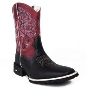 Bota Country Masculina Show Horse Dallas Preto